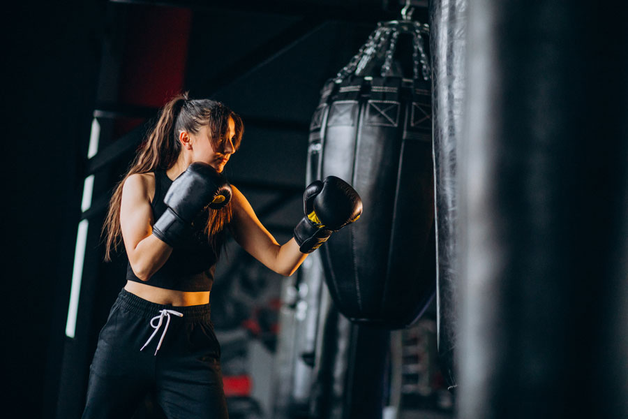 photos of fit boxing workout