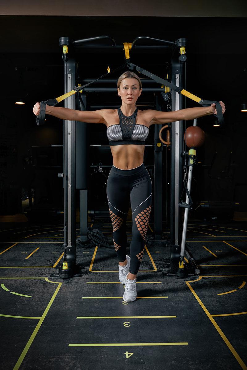 foto di allenamento femminile