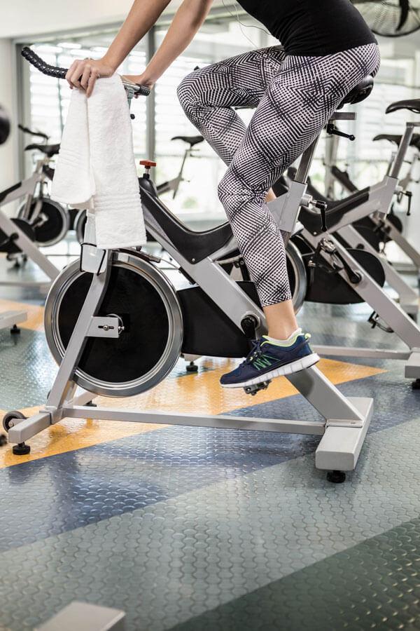 foto di allenamento spinning