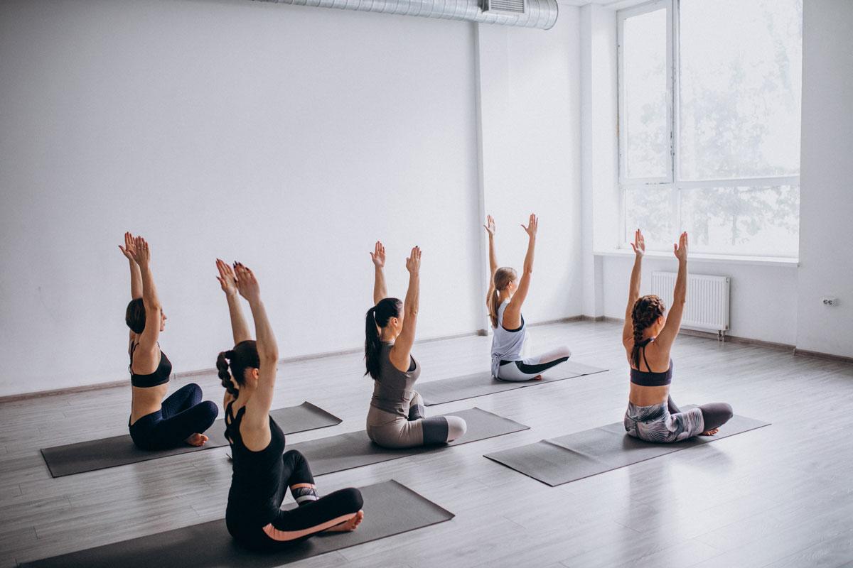 foto di yoga pilates