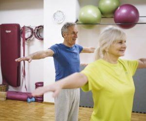 La ginnastica dolce per anziani